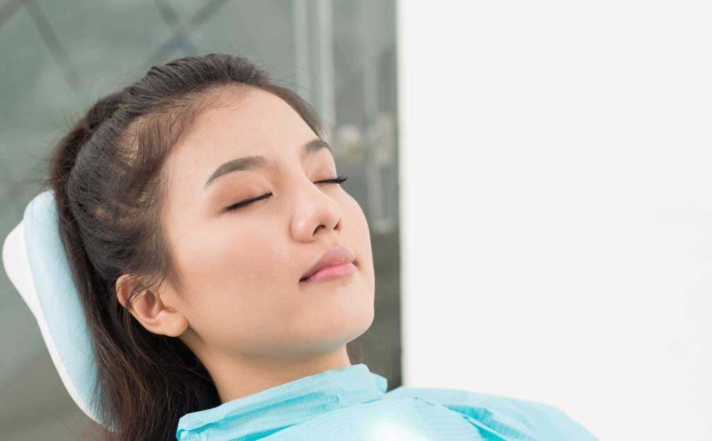 Sleep Dentistry - Prahran Melbourne Woman Asleep